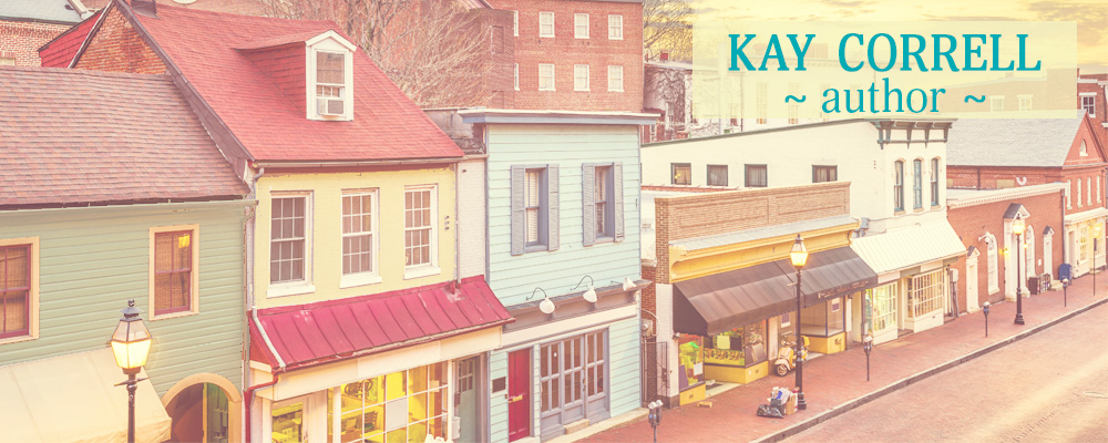 Kay Correll Women's Fiction Author header image