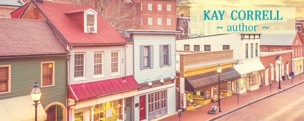 Kay Correll Author header image