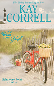 Wish Upon a Shell Lighthouse Point One by Kay Correll